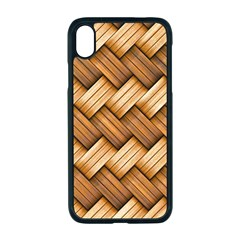 Basket Fibers Basket Texture Braid Apple Iphone Xr Seamless Case (black)