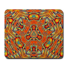 Kaleidoscope Background Mandala Large Mousepads