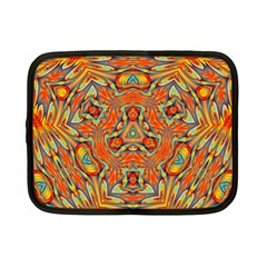 Kaleidoscope Background Mandala Netbook Case (small) by Alisyart