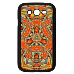 Kaleidoscope Background Mandala Samsung Galaxy Grand Duos I9082 Case (black)