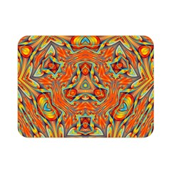 Kaleidoscope Background Mandala Double Sided Flano Blanket (mini)