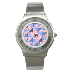 Tubular Stainless Steel Watch