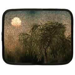 Willow At Sunset Netbook Case (xl)
