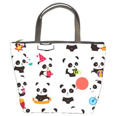 Giant Panda Bear Cuteness Bucket Bag