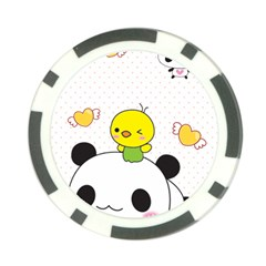 Giant Panda Cartoon Drawing Poker Chip Card Guard (10 Pack)