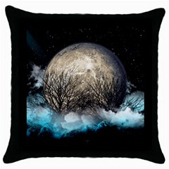 New Venus Throw Pillow Case (black)