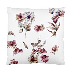 Purple Flowers Bring Cold Showers Standard Cushion Case (two Sides)