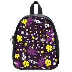 Buttercups & Violets School Bag (small) by WensdaiAddamns