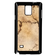 Stone Surface Stone Mass Samsung Galaxy Note 4 Case (black)