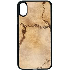Stone Surface Stone Mass Apple Iphone Xs Seamless Case (black) by Mariart