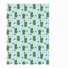 Pineapple Watermelon Fruit Lime Small Garden Flag (two Sides)