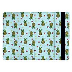 Pineapple Watermelon Fruit Lime Samsung Galaxy Tab Pro 12 2  Flip Case