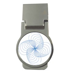 Spirograph Pattern Drawing Money Clips (round)