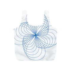 Spirograph Pattern Drawing Full Print Recycle Bag (s)