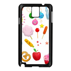 Summer Fair Food Goldfish Samsung Galaxy Note 3 N9005 Case (black) by AnjaniArt