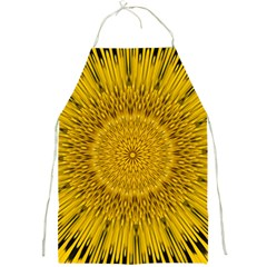 Pattern Petals Pipes Plants Full Print Aprons