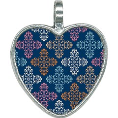 Wallpaper Abstract Art Heart Necklace