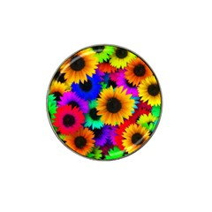 Sunflower Colorful Hat Clip Ball Marker