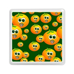 Seamless Orange Pattern Memory Card Reader (square) by Mariart