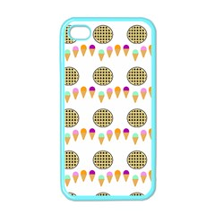 Pizza Ice Cream Party Food Apple Iphone 4 Case (color)