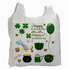 Saint Patricks Day Recycle Bag (one Side)