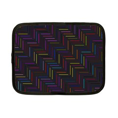 Lines Line Background Netbook Case (small) by Alisyart