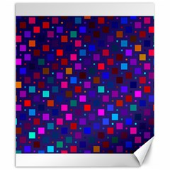 Squares Square Background Abstract Canvas 20  X 24