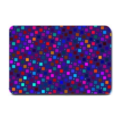 Squares Square Background Abstract Small Doormat