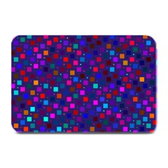 Squares Square Background Abstract Plate Mats