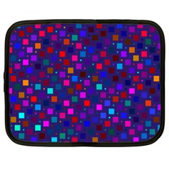 Squares Square Background Abstract Netbook Case (xl)