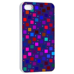 Squares Square Background Abstract Apple Iphone 4/4s Seamless Case (white)