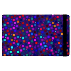 Squares Square Background Abstract Apple Ipad 2 Flip Case