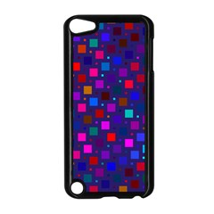 Squares Square Background Abstract Apple Ipod Touch 5 Case (black)
