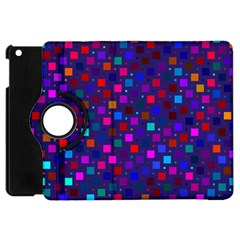 Squares Square Background Abstract Apple Ipad Mini Flip 360 Case by Alisyart