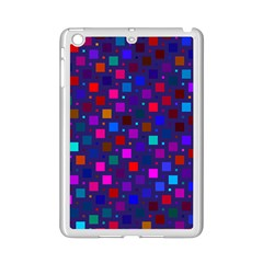 Squares Square Background Abstract Ipad Mini 2 Enamel Coated Cases