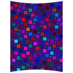 Squares Square Background Abstract Back Support Cushion