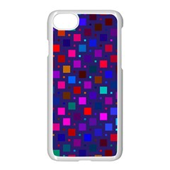 Squares Square Background Abstract Apple Iphone 8 Seamless Case (white)