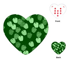 Seamless Paprica Playing Cards (heart)