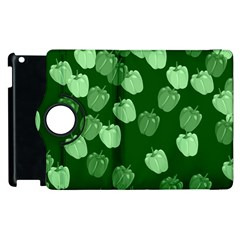Seamless Paprica Apple Ipad 2 Flip 360 Case