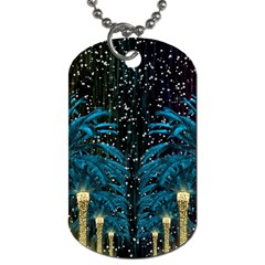 Winter Holidays  Dog Tag (two Sides)