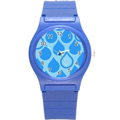 Droplet Round Plastic Sport Watch (s) by WensdaiAddamns