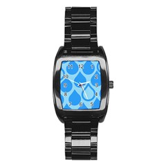 Droplet Stainless Steel Barrel Watch by WensdaiAddamns