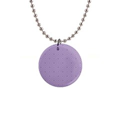 Simple Squares  1  Button Necklace by TimelessFashion