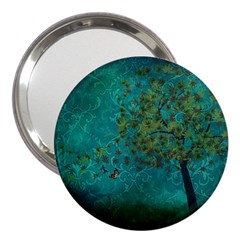 Tree In The Wind 3  Handbag Mirrors by WensdaiAddamns