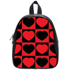 Royal Hearts School Bag (small) by WensdaiAddamns