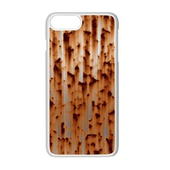 Rust Rusty Metal Iron Old Rusted Apple Iphone 7 Plus Seamless Case (white)
