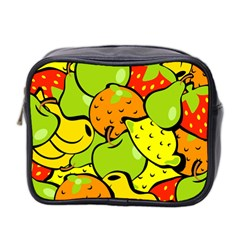 Fruit Food Wallpaper Mini Toiletries Bag (two Sides)