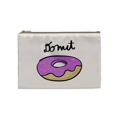 Donuts Sweet Food Cosmetic Bag (medium)