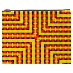 Digital Artwork Abstract Cosmetic Bag (xxxl)