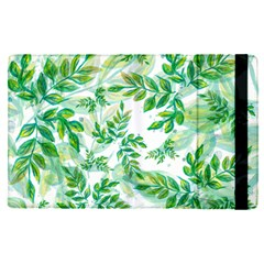 Leaves Green Pattern Nature Plant Ipad Mini 4 by AnjaniArt